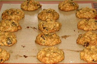 oatmeal cookies, oatmeal raisin cookies, brown butter